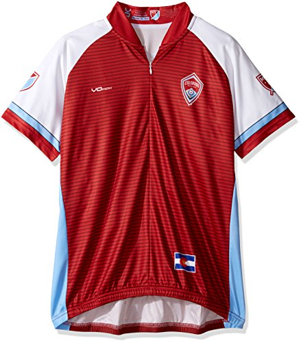VOmax MLS Damen Primary Short Sleeve Jersey, Damen, rot, X-Large