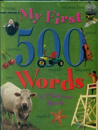 My First 500 Words por Sterling Publishers