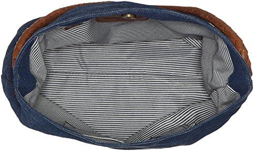 Timberland Tb0a1d2k, Borsa a Spalla Donna, 14.5 x 35 x 34 cm (W x H x L) Blu (Vintage Indigo)