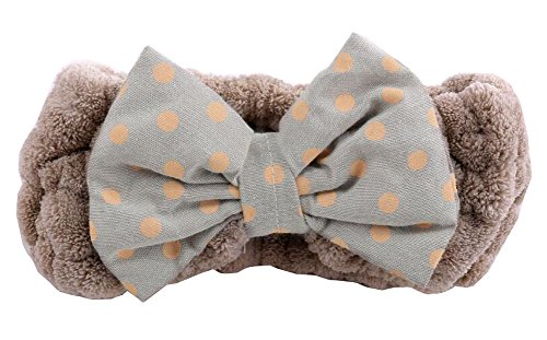 Bowknot Une baignoire Wash Cosmetic Headband