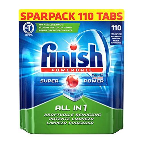 Preisvergleich Produktbild Finish All in 1,  Spülmaschinentabs,  Sparpack,  110 Tabs