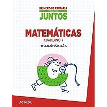 Aprender Es Crecer Juntos. Cuadrícula. Cuaderno De Matemáticas 3 - 9788467838121