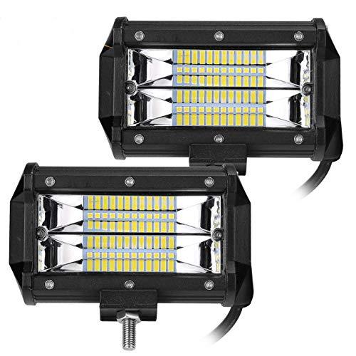 2 X 72W Focos de Coche LED Potentes