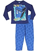 Doctor Who Boys Doctor Who Pyjamas Tardis Ages 4 to 13 Years