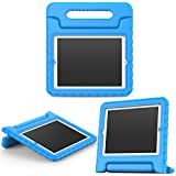 MoKo Funda para iPad 2 / 3 / 4 - Material EVA Lightweight Kids Shock Proof Protector Cover Case con Manija para Apple iPad 2 / 3 / 4 9.7 Pulgadas Tableta, Azul