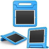 MoKo Funda para iPad 2 / 3 / 4 - Material EVA Lightweight Kids Shock Proof Protector Cover Case con Manija para Apple iPad 2 / 3 / 4 9.7 Pulgadas Tableta, Azul