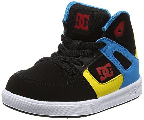 DC Shoes Rebound Ul, Zapatillas para Niños, Multicolor (Black/Multi/White), 21.5 EU
