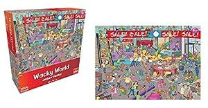 Goliath Toys 74401 Wacky World Sale - Juego de Cartas coleccionables