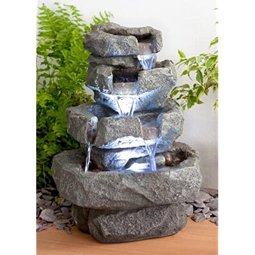 outdoor water features for the garden amazon co uk