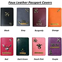 I Love Fashion Personalised Faux Leather Passport Covers for Men and Women