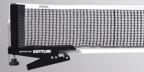 Kettler Tischtennis Netzgarnitur Spring (Farbe: 300 Schwarz)