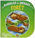 Les mandalas des animaux de la forêt: De A à Z apprends l'alphabet et les noms des animaux en 5 langues....