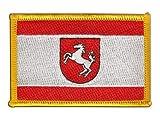 Flaggen Aufnäher Deutschland Westfalen Fahne Patch +