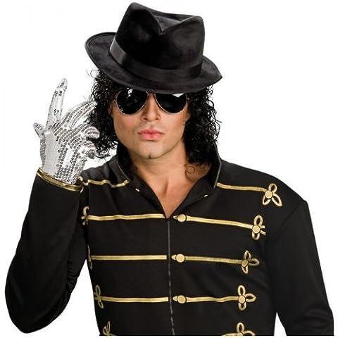 Guante de Michael Jackson con lentejuelas plateadas para adulto