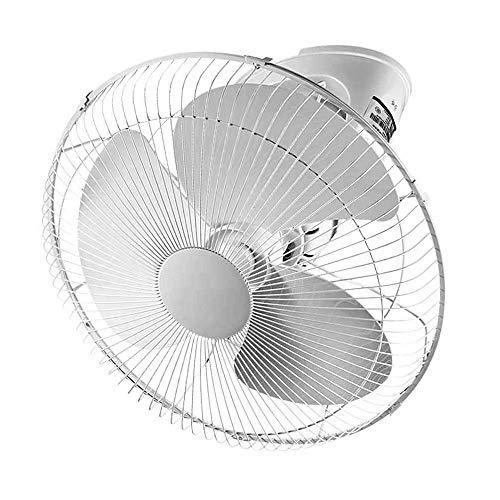 Elektrischer Ventilator Haushalt 16 Zoll Deckenventilator Geräuschloser Industrieventilator 360 ° drehbarer Energiesparventilator