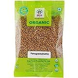 Arya Farm 100% Certified Organic Methi Seeds (Fenugreek),200g (Whole Spice/Fenu Greek/Menthya / Vendhayam/Menthulu / Chemicals Free/Pesticides Free/No Preservatives)