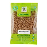 #4: Arya Farm 100% Certified Organic Methi Seeds (Fenugreek),200g (Whole Spice/Fenu Greek/Menthya/Vendhayam/Menthulu/Chemicals Free/Pesticides Free/No Preservatives/Wellness Personal Care Product)