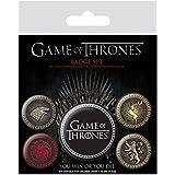 Pack de chapas Juego de Tronos 4 grandes reinos