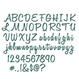Sizzix Thinlits Fustella, Script Upper & Lower