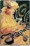Affiche publicitaire Vintage - Café Jacomo - Format 40 x 60 cm