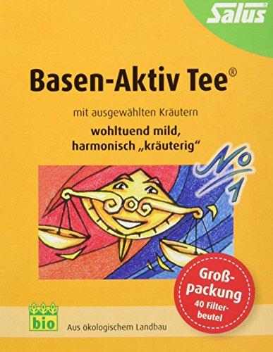 Salus Basen-Aktiv Tee Nr. 1, im FB, 2er Pack (2 x 72 g) (Tee Aktiv)