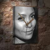 THANDIE NEWTON - Canvas Clock (A5 - Signed by the Artist) #js005