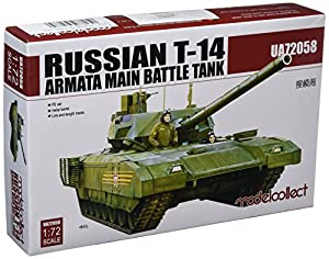 Modelcollect ua72058Maqueta de Russian T de 14Armata Main Battle Tank