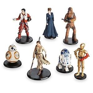 Star Wars: The Force Awakens Resistance Figure Set by Disney 6