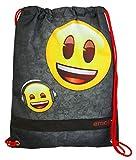Undercover EMLG7245 Schuhbeutel, Emoji, ca. 40 x 32 x 0,5 cm