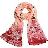 Malloom® mujer urraca gasa suave pañuelo de cuello mantón de las bufandas robó abrigos (rosa)