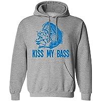 Kiss My Bass FISHING Scelta di con cappuccio o un