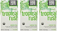 Good Earth Organic Tropical Rush Green Tea Bags - 18 ct - 3 pk