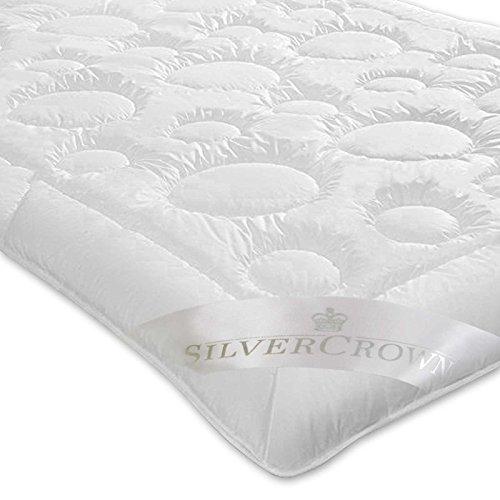 Brinkhaus-Silvercrown Leichtsteppbett Kamelhaarwolle weiß Größe 155x200 cm