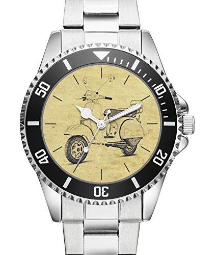 Gebraucht, KIESENBERG® Uhr 20124 mit Roller Motiv für Vespa PX gebraucht kaufen  Wird an jeden Ort in Deutschland