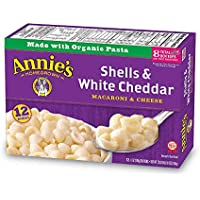 Annie's Shells & White Cheddar Macaroni & Cheese 6 oz. Box (Pack of 12)