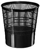 Cep 1002370011–Poubelle grillagée 16l Noir