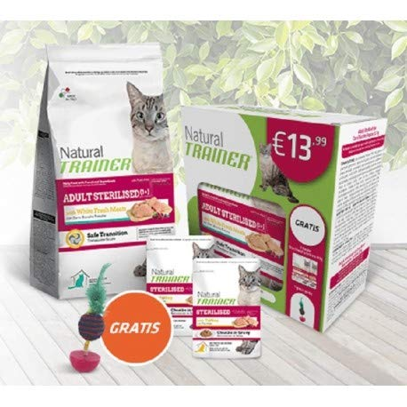 Natural Trainer Special Pack - Adult Sterilised 1+ con carni Bianche fresche