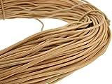 Piel cuerda redonda 3mm. Natural. Longitud: A Elegir., naturaleza, 5 m