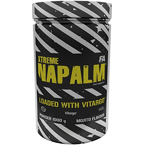 FA Nutrition Xtreme Napalm Loaded with Vitargo - 1kg - Wassermelone - Pre-workout