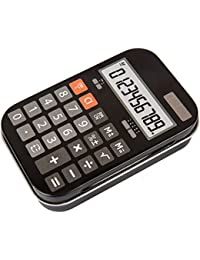 Retro Metal Storage Boxes Calculator Radio Camera Cassette Mobile Styled Tins (Calculator)