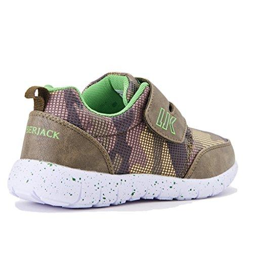 Lumberjack Mosh, Sneaker a Collo Basso Bambino Militare