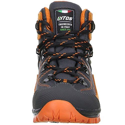 LYTOS  51-0trek Anthrazit/Orange 2dk002/5,  Scarponcini da camminata ed escursionismo ragazzo grigio Grau Anthrazit