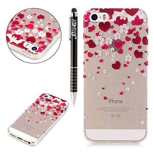ssincat-custodia-per-apple-iphone-5-coverultra-slim-trasparente-tpu-crystal-clear-morbido-copertura-