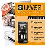 Texas Instruments TI Nspire CX CAS Taschenrechner Schutzfolie 5x uwazi satin-matt Displayschutzfolie Folie