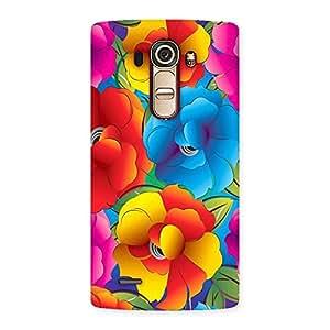 Special Flower Art Print Back Case Cover for LG G4