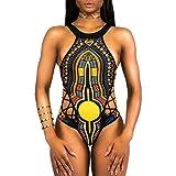 TWIFER Damen Bandage Einteiler Bikini Monokini Push up BH Bademode Badeanzug