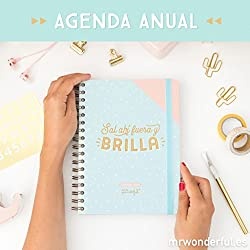 Mr. Wonderful - Agenda 2018 semana vista