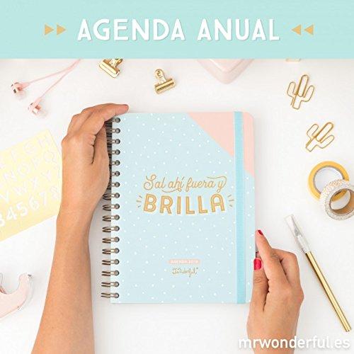 Mr. Wonderful WOA08859ES - Agenda 2018 semana vista