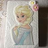 Tortenaufleger Frozen Elsa XXL Silhoulette