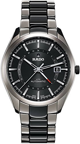 Rado HyperChrome Ceramic R32165152 Mens Watch Sapphire Crystal Luminescent...